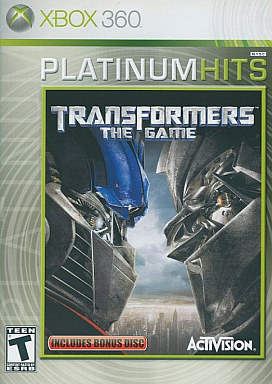 North American version TRANSFORMERS THE GAME (domestic version can be used)