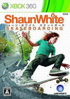 【中古】XBOX360ソフト ショーン・ホワイト スケートボード