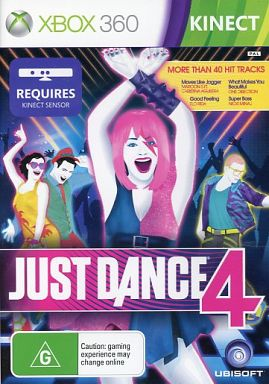 AU version JUST DANCE 4 (domestic version can be used)