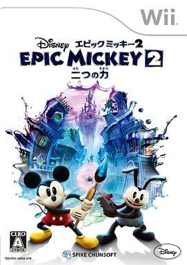 【中古】Wiiソフト ディズニーエピックミッキー2 ?二つの力?