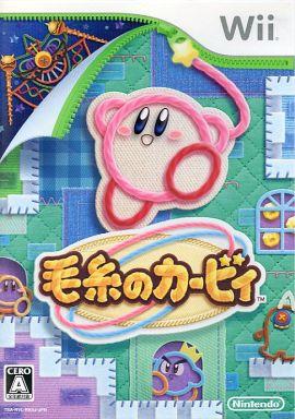 【中古】Wiiソフト 毛糸のカービィ(状態:パッケージ状態難)