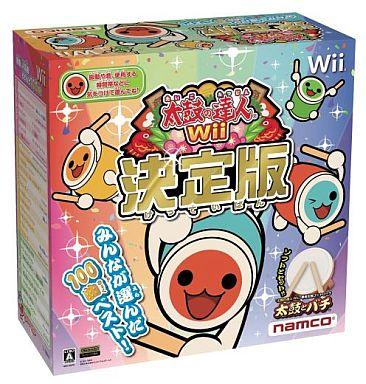 【中古】Wiiソフト 太鼓の達人Wii 決定版[太鼓とバチ同梱]