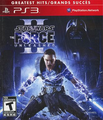 North American version STAR WARS: THE FORCE UNLEASHED II [GREATEST HITS]