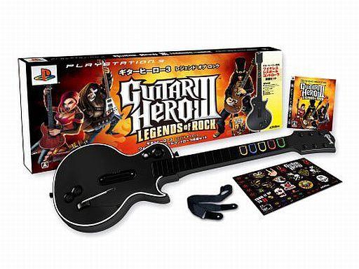 【中古】PS3ハード GUITAR HERO III LEGENDS of ROCK[ギターヒーロー専用ワイヤレスコントローラ同梱版]