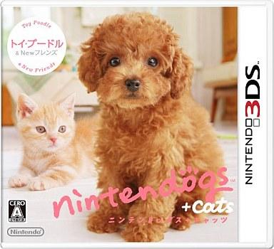 【中古】ニンテンドー3DSソフト Nintendogs + Cats トイプードル&Newフレンズ