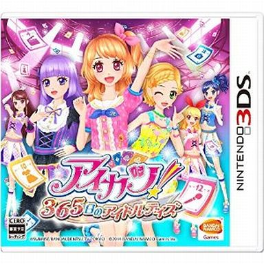 【中古】ニンテンドー3DSソフト アイカツ! 365日のアイドルデイズ