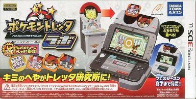 【中古】ニンテンドー3DSソフト ポケモントレッタラボ for ニンテンドー3DS [初回生産版](状態:ポケモントレッタ欠品)