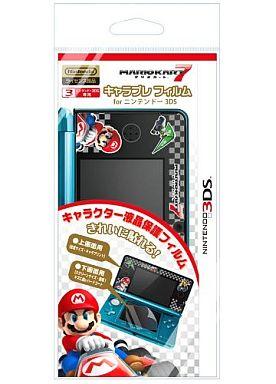 【新品】ニンテンドー3DSハード キャラプレフィルム fo ニンテンドー3DS マリオカート7M