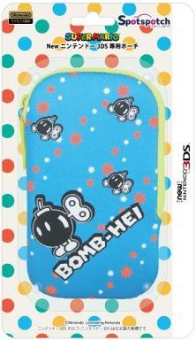 New Nintendo 3DS Pouch Spotch (Spotch) Bomu hen