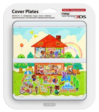 Kisekae plate NO. 62 Animal Crossing Happy Home (for New 3 DS)