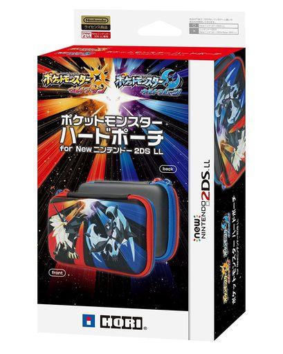 HORI 新品 ニンテンドー3DSハード ポケットモンスター ハードポーチ ウルトラサン・ムーン(New2DSLL用)