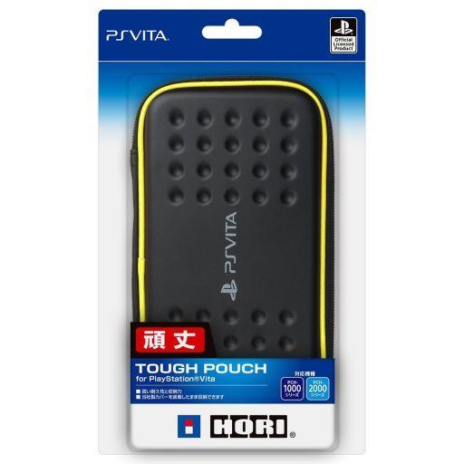 Tough Pouch Black × Yellow (for PSVita)