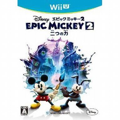 【中古】WiiUソフト ディズニーエピックミッキー2 ?二つの力?