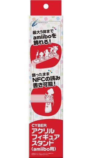 【新品】WiiUハード amiibo用アクリルフィギュアスタンド