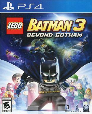 【中古】PS4ソフト 北米版 LEGO BATMAN 3 BEYOND GOTHAM (国内版本体動作可)