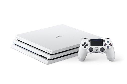 Playstation 4 Pro main body Glacier · White (HDD 1 TB / CUH - 7100 BB 02)