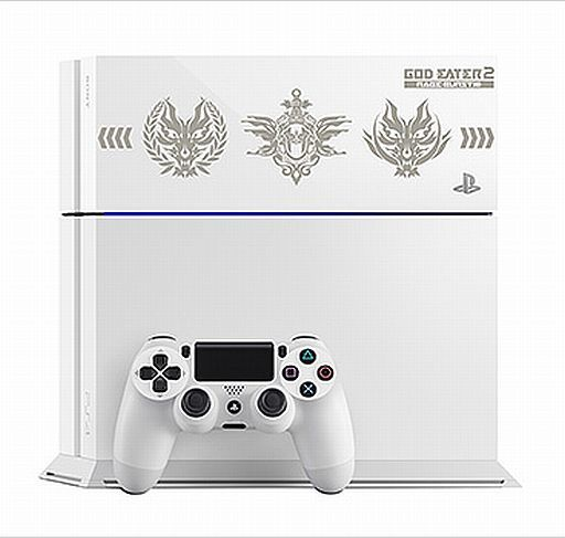 Playstation 4 Body GOD EATER 2 RAGE BURST Edition 500 GB (Glacier · White) [CUH - 1100 AB 02]