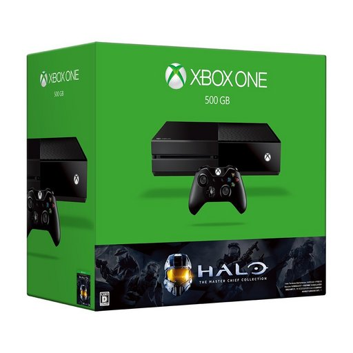 XboxOne main body 500 GB (Halo: The Master Chief Collection included version)