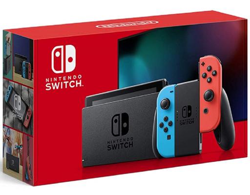 Nintendo Switch本体/Joy-Con(L) ネオンブルー/(R) ネオンレッド [2019年8月モデル]