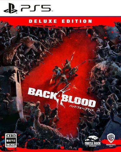 WB Games 新品 PS5ソフト Back 4 Blood(バック・フォー・ブラッド) デラックス・エディション (18歳以上対象)