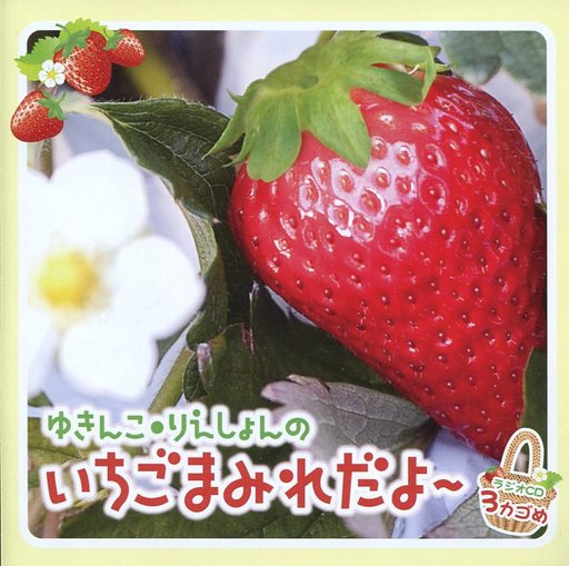Yukinko Rie Shonen's Strawberry Mamire - Radio CD 3 Kagome [First Press Limited Edition]
