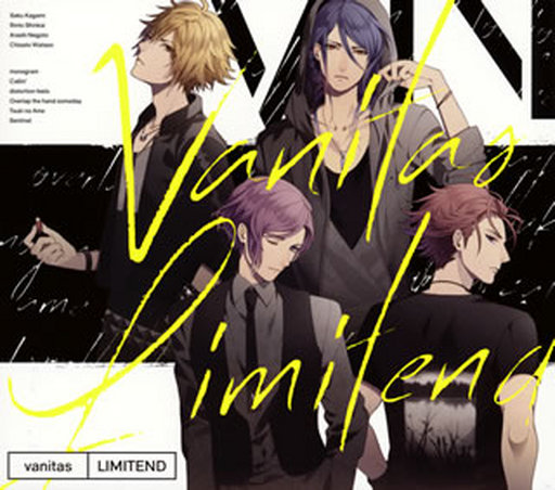 """vanitas / boyfriend (temporary) character song album """"LIMITEND"""" [First Press Limited Edition]"""