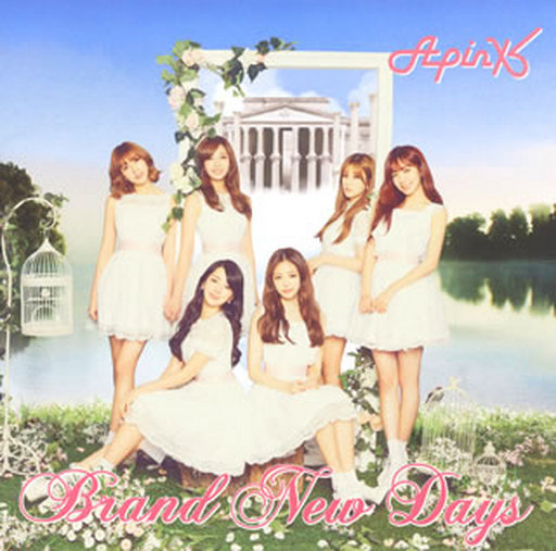 "Apink / Brand New Days [w / DVD, Limited Edition A] TV animation ""Ririruru Fairiru ~ Fairy Door ~"" Theme Song"