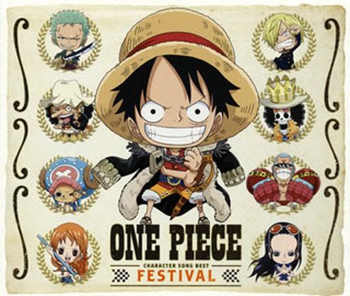 """【中古】アニメ系CD 「ONE PIECE」キャラソンBEST""""FESTIVAL"""""""
