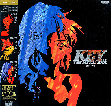 【中古】LD KEY THE METAL IDOL Ver.1?3