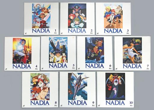 ふしぎの海のナディア TVシリーズ完全収録版 全10巻セット