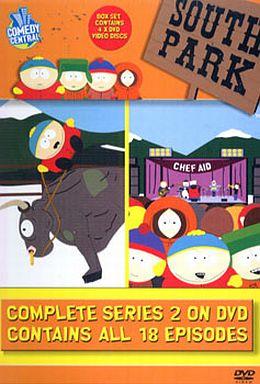 【中古】アニメDVD サウスパーク シリーズ 2 DVD-BOX