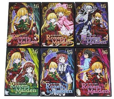 【中古】アニメDVD ローゼンメイデン 通常版 全6巻セット