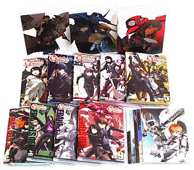 【中古】アニメDVD 鉄のラインバレル 初回版全9巻セット