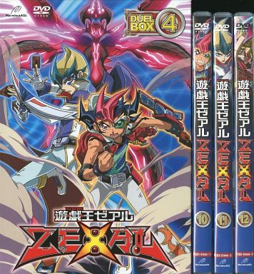 遊戯王ZEXAL DVDシリーズ DUELBOX 4
