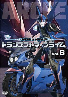 【中古】アニメDVD 超ロボット生命体 トランスフォーマープライム Vol.6