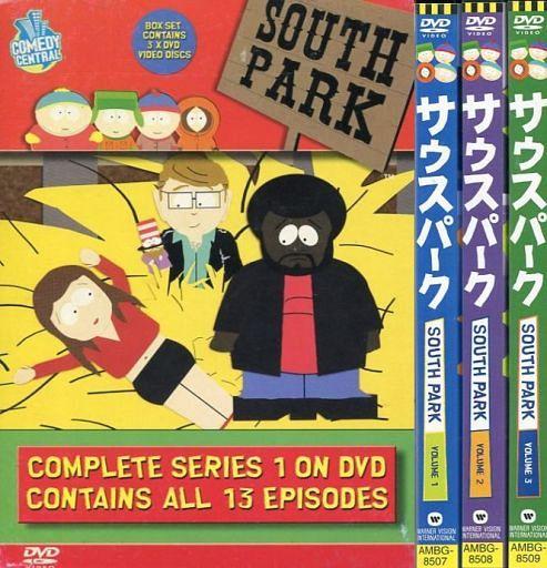 【中古】アニメDVD 不備有)サウスパーク シリーズ 1 DVD-BOX(状態:収納BOXに難有り)