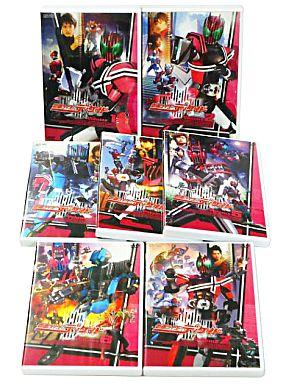 【中古】特撮DVD 仮面ライダーディケイド 通常版全7巻セット