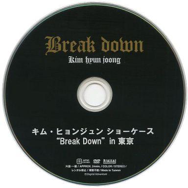 """【中古】洋楽DVD Kim HyunJoong / キム・ヒョンジュン ショーケース """"Break Down"""" in 東京"""