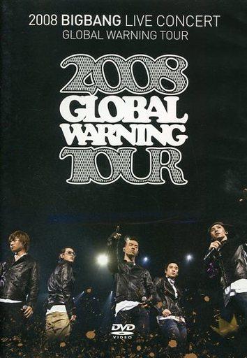 【中古】洋楽DVD BIGBANG / 2008 BIGBANG LIVE CONCERT GLOBAL WARNING TOUR [初回プレス限定スペシャルプライス版]