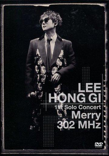 """【中古】洋楽DVD イ・ホンギ / LEE HONG GI 1st Solo Concert """"Merry 302 MHz"""""""