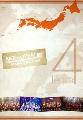 【中古】邦楽DVD AKB48 / AKBがいっぱい ?SUMMER TOUR 2011? Team4(生写真欠け)