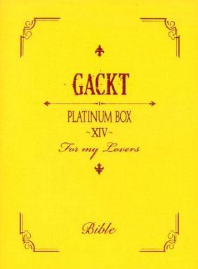 【中古】邦楽DVD GACKT / PLATINUM BOX ?XIV?