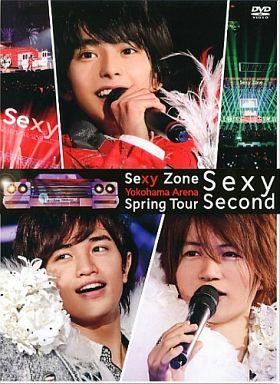 【中古】邦楽DVD Sexy Zone / Sexy Zone Spring Tour Sexy Second [初回限定版]