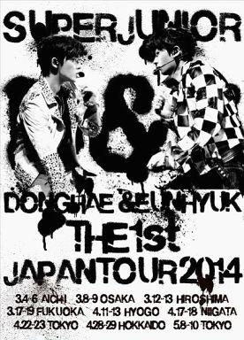 駿河屋 -SUPER JUNIOR / D&E THE 1st JAPAN TOUR 2014 [初回限定版]邦楽DVD