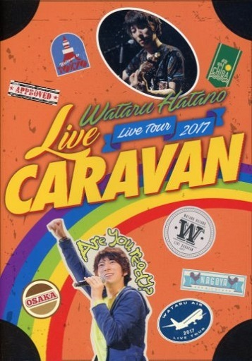 "羽多野渉 / Wataru Hatano LIVE Tour 2017 ""LIVE CARAVAN"" Live DVD"