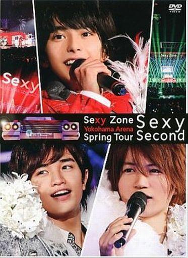 【中古】邦楽DVD ランクB)Sexy Zone / Sexy Zone Spring Tour Sexy Second [初回限定版]