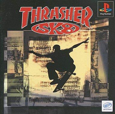 【中古】PSソフト THRASHER SK8(スラッシャーSK8)