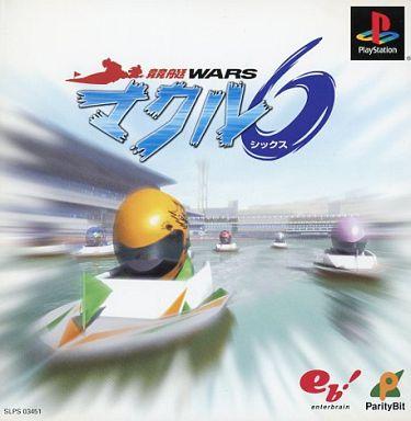 【中古】PSソフト 競艇Warsマクル6