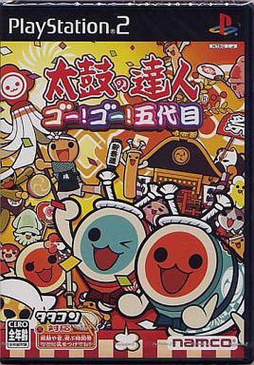 【中古】PS2ソフト 太鼓の達人 -ゴー!ゴー!五代目-