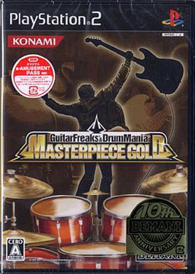 【中古】PS2ソフト ギターフリークス&ドラムマニア マスターピース ゴールド